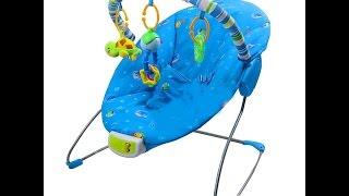 Видеообзор детская игрушка - Шезлонг-качалка детский, 5 скоростей, подвеска (kidtoy.in.ua)(Шезлонг-качалка детский, 5 скоростей, таймер, 3 мелодии+3 звука, дуга с подвесками, подголовник, на батарейке,..., 2014-11-03T21:02:00.000Z)