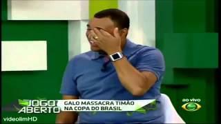 Jogo Aberto 16 10 2014 DEBATE GALO MASSACRA TIM O NA COPA DO BRASIL 3