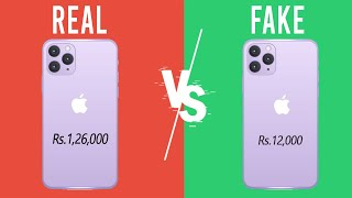 Apple iPhone 12 Pro Max Rs.12,000 Vs Rs.1,26,000 - How to Spot FAKE iPhone in 10 Seconds!