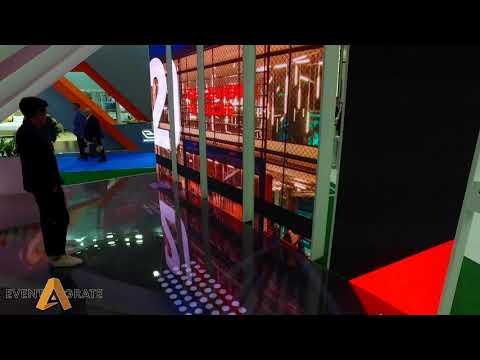 Interactive Tunnel for Dubai Sport City