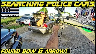 connectYoutube - Searching Police Cars Found Bow & Arrow! Put to the test! Auction Day!