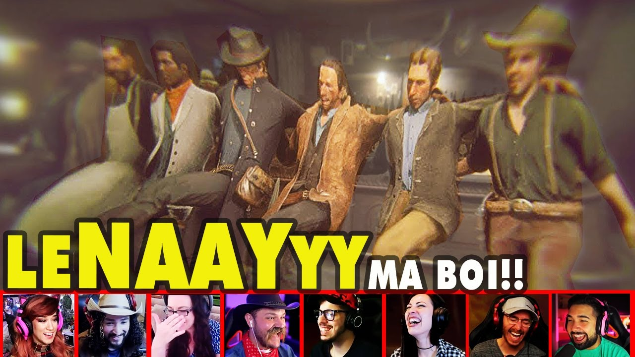 Gamers Reaction To Arthur And Lenny Epic Night At The Bar On Red Dead Redemption 2 | Mixed Reactions