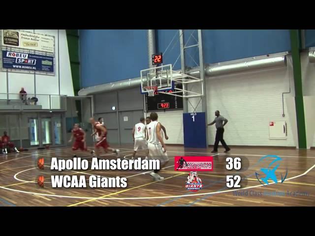 Amsterdam U20 vs Giants U20