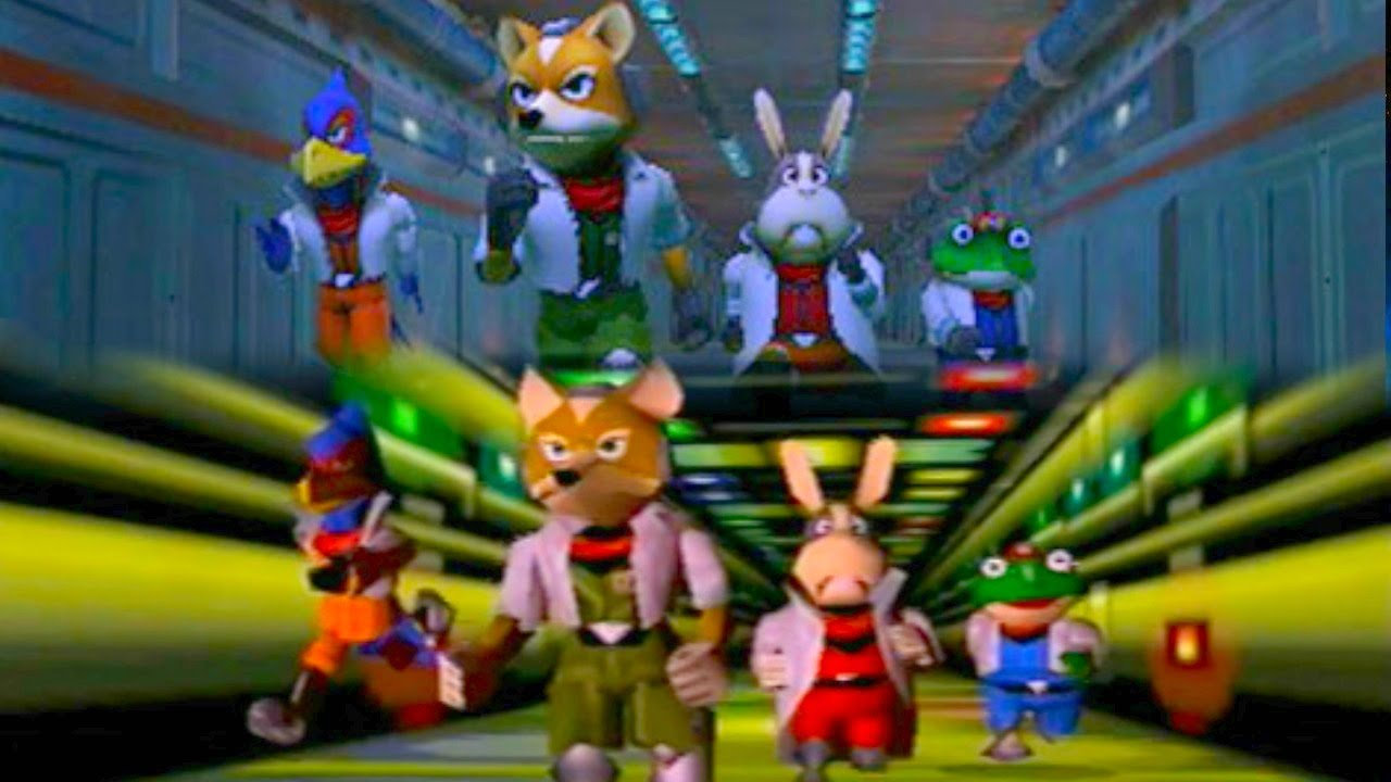 Star Fox 64 3d Comparison Best On Youtube Hd Youtube