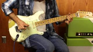 Wild West Guitars Exclusive - Fender Stratocaster - White Lightning HLE Gold - Floyd Rose -