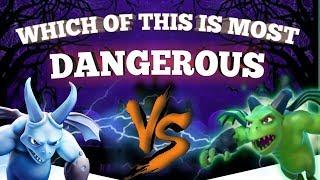 MINIONS vs BETA MINIONS!! ⚡️Who Wins the CoC Battle ⚡️ Clash of Clans