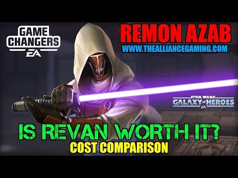 Is Jedi Knight Revan Worth It? Cost Comparison to Marquees - Star Wars Galaxy Of Heroes - SWGOH