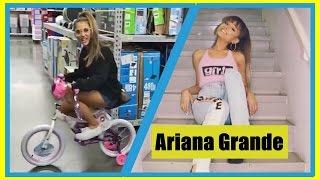 Ariana Grande Andando De Bicicleta Na Loja - Ariana Grande Bicycle Walking in Shop