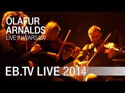 ÓLAFUR ARNALDS live in Warsaw (2014)