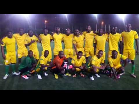 Rwanda Diaspora team in UAE