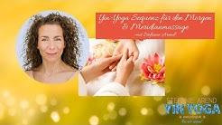 Yin-Yoga-Sequenz für den Morgen mit Meridian-Klopfmassage - Stefanie Arend - www.yinyoga.de