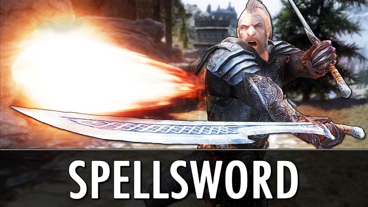Download Skyrim Mod: Spellsword