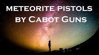 بالفيديو: مسدسان مصنوعان بالكامل من حجر نيزك
