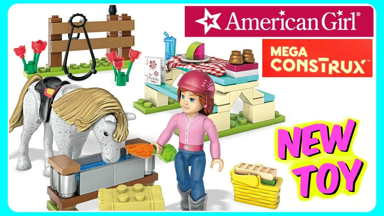 NEW Mega Construx American Girl Saige's Picnic Horse Building Set