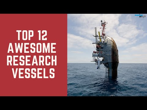 Top 12 Awesome Research Vessels