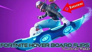 Fortnite Battle Royal Hover Board Stunts In Neo Tilted