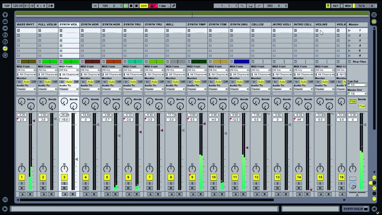 how to make a melody in ableton live 9