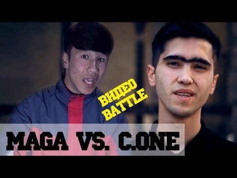 Видео Battle, C.One vs. MaGa, барои 300 сом. (RAP.TJ)