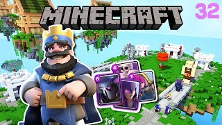 ¡CLASH ROYALE EN MINECRAFT! ARENA LEGENDARIA?! | DIMENSIONES 2 EP. 32