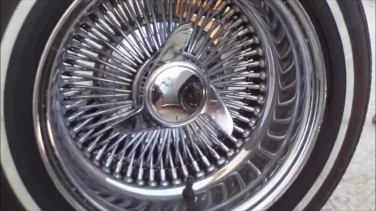 HOW TO MOUNT WIRE RIMS ON YOUR RIDE - YouTube