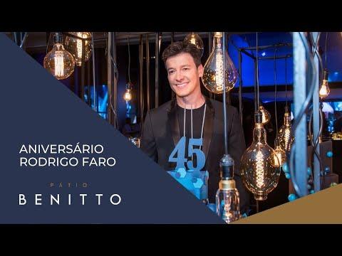 Aniversário Rodrigo Faro 45 anos