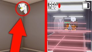 ACCESS THE SECURITY CAMERAS IN JAILBREAK! (Roblox)