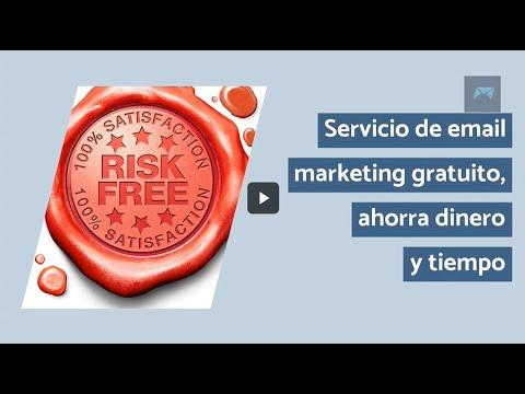Servicio de email marketing gratuito, ahorra dinero y tiempo