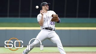 Who does nolan arenado look up to? | sc with svp may 25, 2017