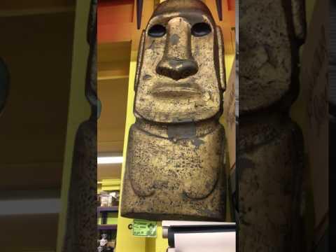 Tiki/ Moai: Archie McPhee: Seattle, WA