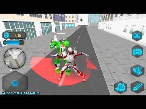 Robot Car Game 3D / Ninja Robot Transform / Andorid,İOS Gameplay