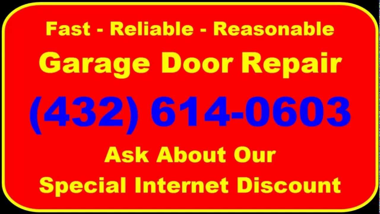 Wonderful Garage Door Repair Odessa TX | (432) 614 0603