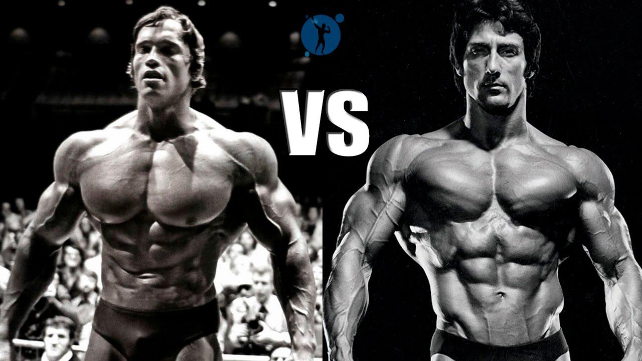 Arnold Schwarzenegger vs Frank Zane - Classic Bodybuilding