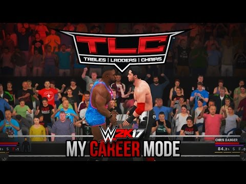 WWE 2K17 My Career Mode - TABLES, LADDERS, & CHAIRS!! (TLC PPV)
