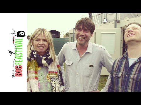 Jamie Or & Alex James Backstage at The Big Feastival  Zoe Ball OFF AIR