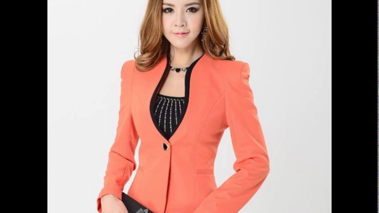 c54f4bdb31224 Outfit blazer de dama geniales♥ - YouTube