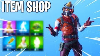 STARLORD SKIN, PICKAXE, GLIDER & EMOTE! Fortnite ITEM SHOP! Daily And Featured Items!