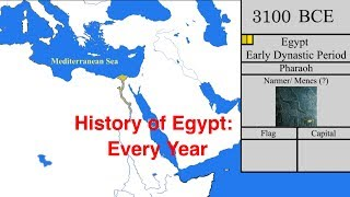 History of Egypt: Every Year