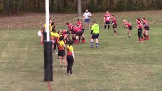Ozark Tournament - 11/11/18 - Little Rock Women's Rugby VS Pitt State - 1st Half