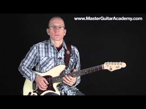 Using Major Minor & 6th for Blues Guitar Lead & Country