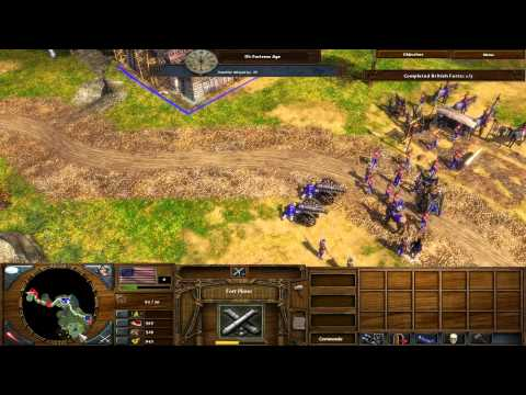 Age of Empires 3: The War Chiefs - Campaign on Hard - Part 5 - Saratoga
