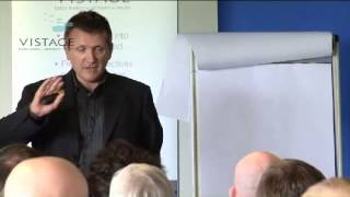 Christophe Morin, Keynote event for Vistage UK 2011