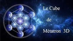 Le Cube de Métatron - 3D