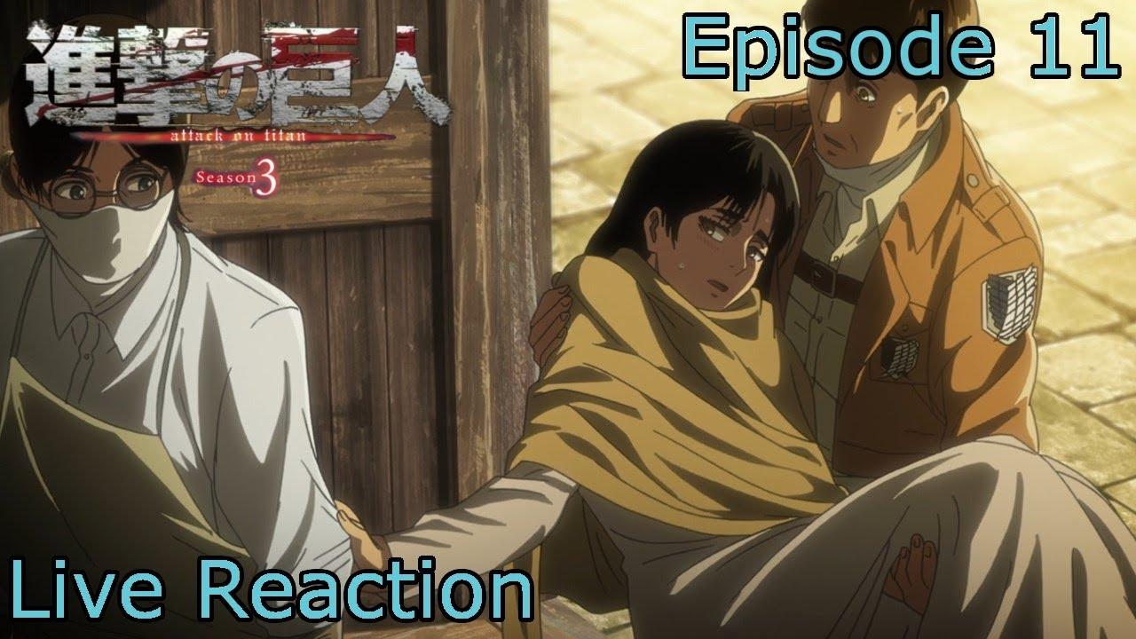 Reaction+Commentary Shingeki no Kyojin | Attack on Titan ...