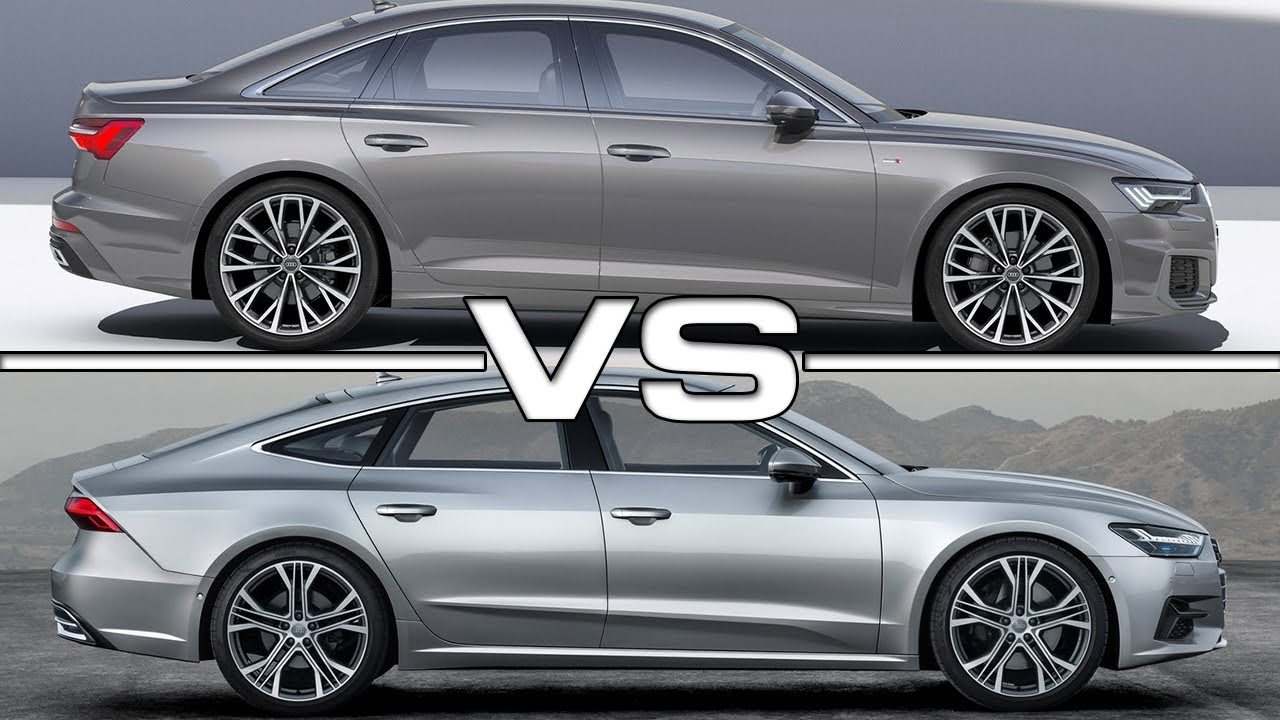 2019 Audi A6 vs 2018 Audi A7 - YouTube