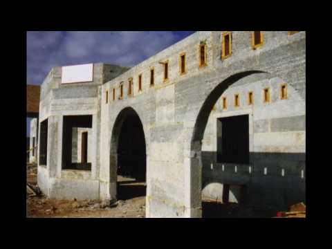 GREEN EARTH CINDER BLOCK - RECYCLED NEW HOME ENERGY EFFICIENT  BUILDING MATERIALS