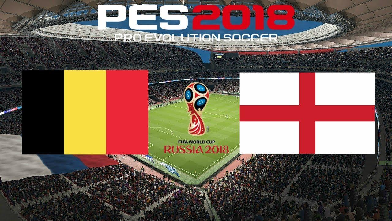 Spiel England Belgien