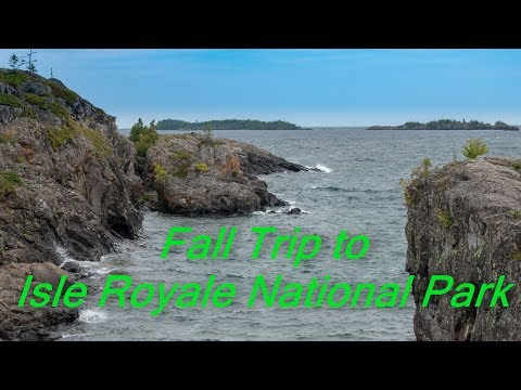 Fall Trip to Isle Royale National Park
