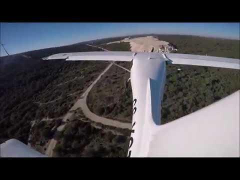 Pias Longas Aerodrome. Ourém, Portugal