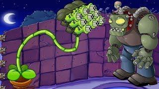 Plants vs Zombies  Hack -  1 Gatling Pea vs Dr. Zomboss Fight! thumbnail