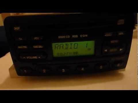 Ford Focus 6000 CD RDS EON CD Changer
